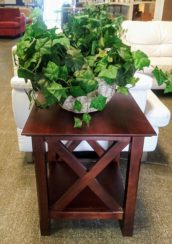 Really nice wood side tables