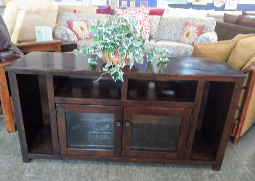 Very nice modern wood entertainment console