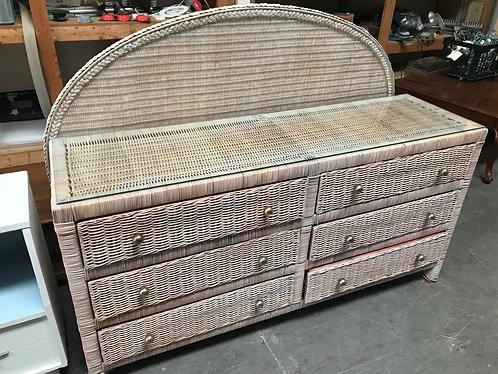 Dresser with Queen Headboard