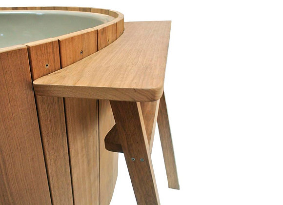 Side table for Dutchtub Wood