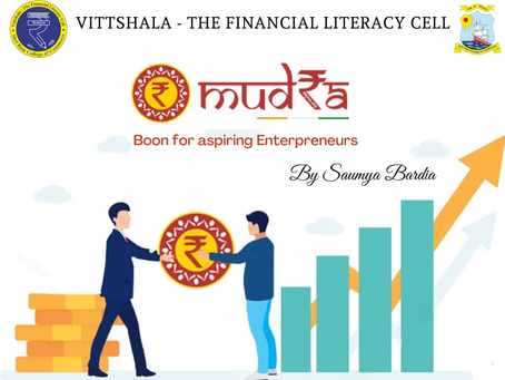MUDRA- Boon for aspiring Entrepreneurs