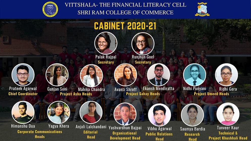 Vittshala Cabinet 2020-21