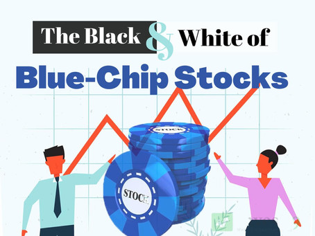 The Black and White of Blue-Chip Stocks