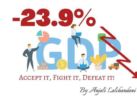 - 23.9% GDP - Accept it, Fight it, Defeat it
