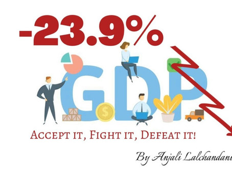 - 23.9% GDP - Accept it, Fight it, Defeat it