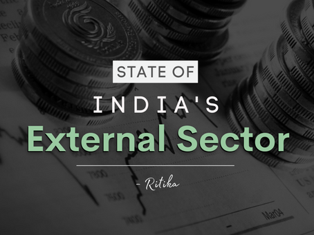 State Of India's External Sector