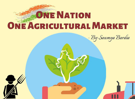 One Nation, One Agricultural Market