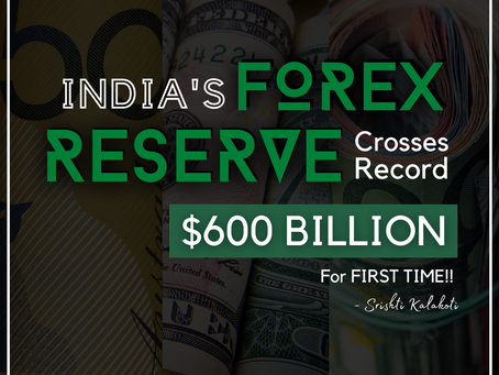 India's Forex Reserves touch an all time high