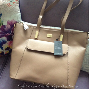 Perfect Chaos review of the Sash & Belle Charlie Nappy Bag