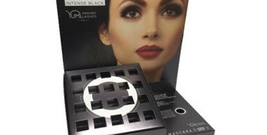 YUMI LASHES DISPLAY STAND FOR BLACK MASCARA AFTERCARE