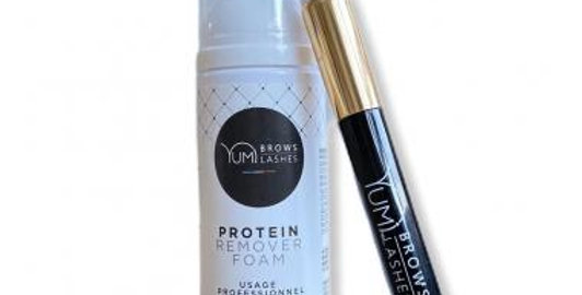 PROTEIN REMOVER FOAM + BRUSH (YUMI™ LASHES AND BROWS)