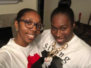 My sister and I (Black History Sunday)