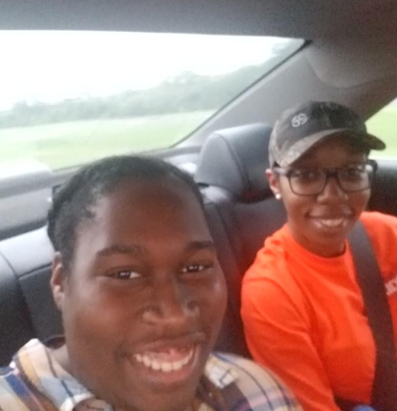 Kendria NaCol: Heading to trail ride event with sister