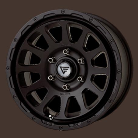 OVAL  MAT BLACK (4pes set)