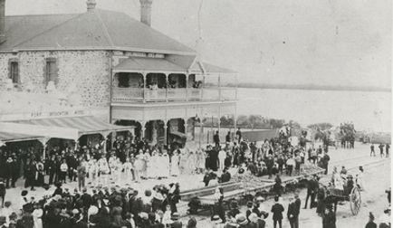 Port Broughton History Hotel 1911