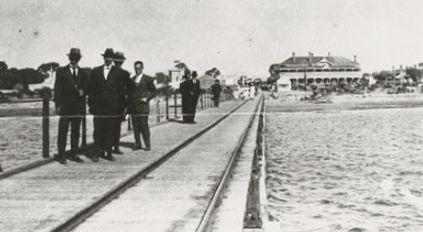 Port Broughton history jetty 1910
