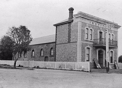 Port Broughton History 1910 Institute