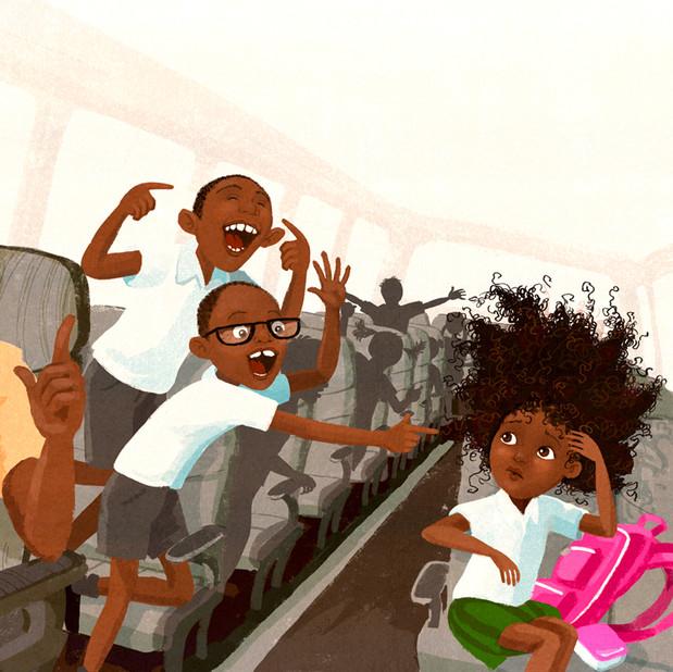 School bus torment
