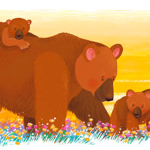 'Mommy Loves You' - Big Brown Bears