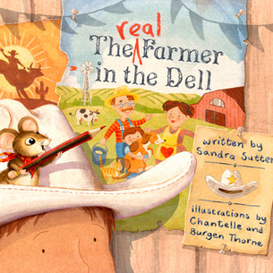 'The Real Farmer in the Dell' - front cover.