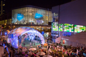 photo of Dreamforce conference in San Francisco