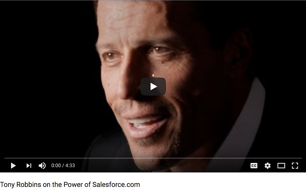 photo from a video about the power of salesforce