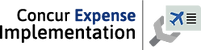 Logotipo - Concur Expense Implementation