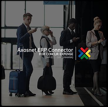 Axosnet ERP Connector for Concur Expense