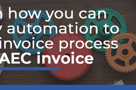Learn how you can apply automation to your invoice process with AEC invoice