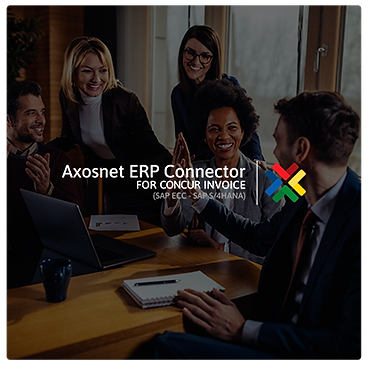 Axosnet ERP Connector for Concur Invoice