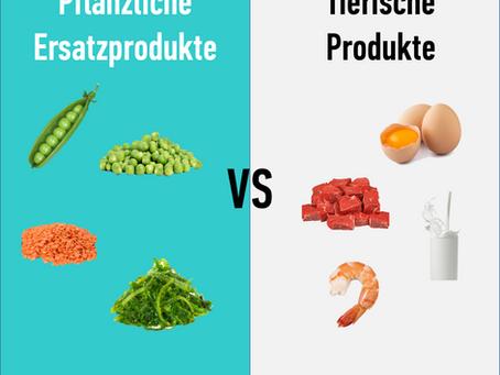 Pflanzliche Ersatzprodukte oder das tierische Original - was ist besser?
