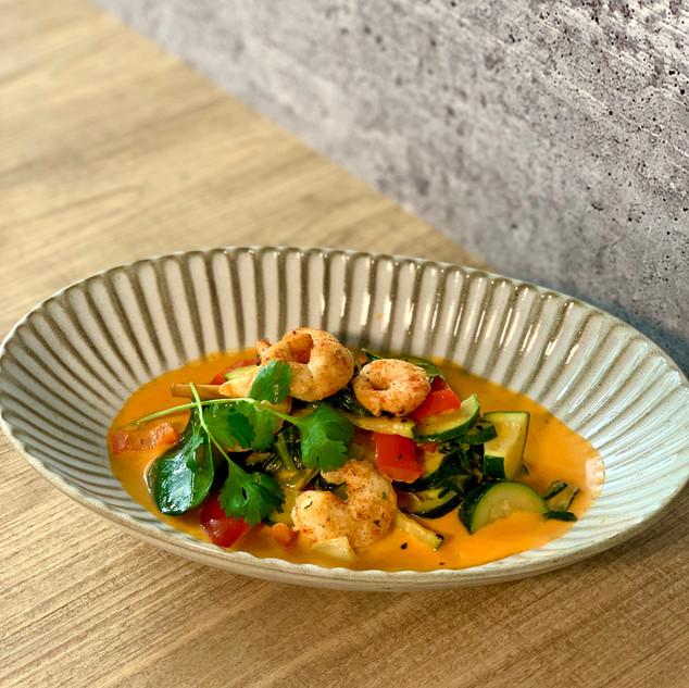 Happy Ocean Garnelen Curry