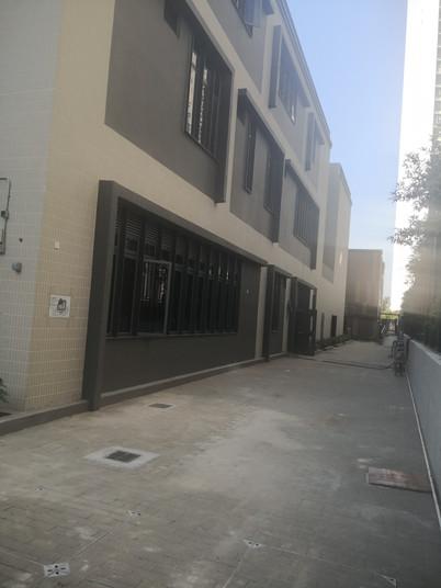 TC school  Japan Ryowa external wall til