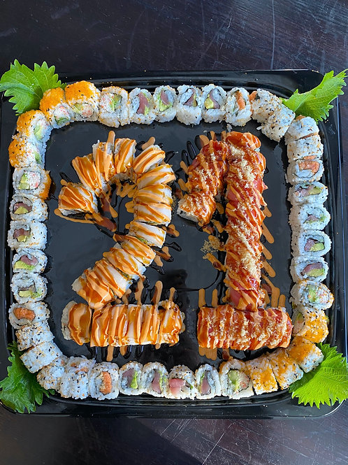"""Sushi Lover"" Birthday Tray"