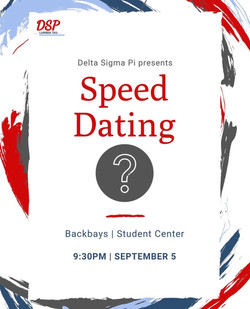 #3 Speed Dating