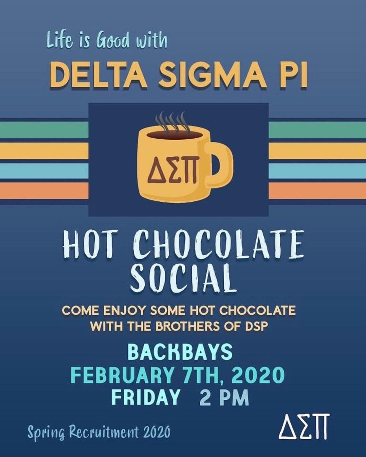 #7 Hot Chocolate Social