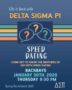 #5 Speed Dating