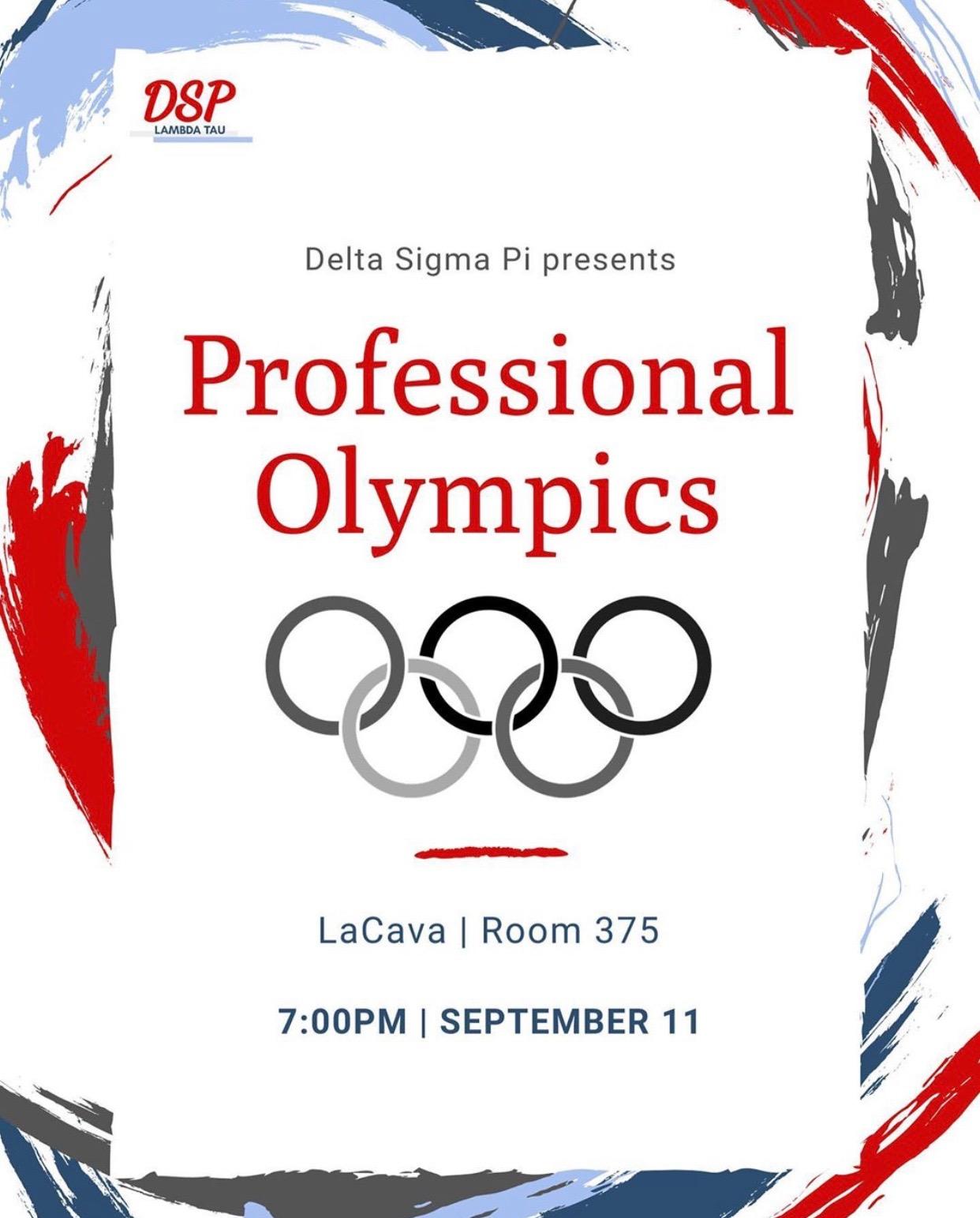 #5 Professional Olympics