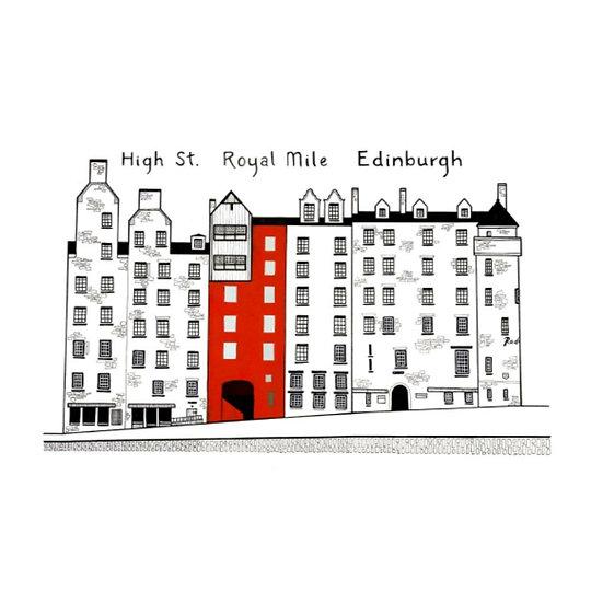 High Street, Royal Mile