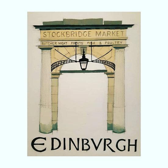 Stockbridge Market, Edinburgh