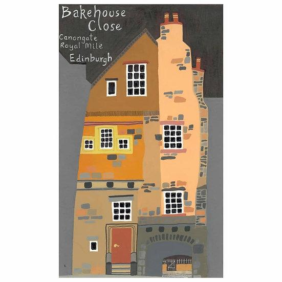 Bakehouse Close, Royal Mile, Edinburgh (rear view)