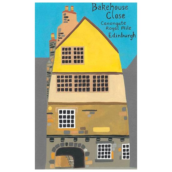 Bakehouse Close, Royal Mile, Edinburgh (front)