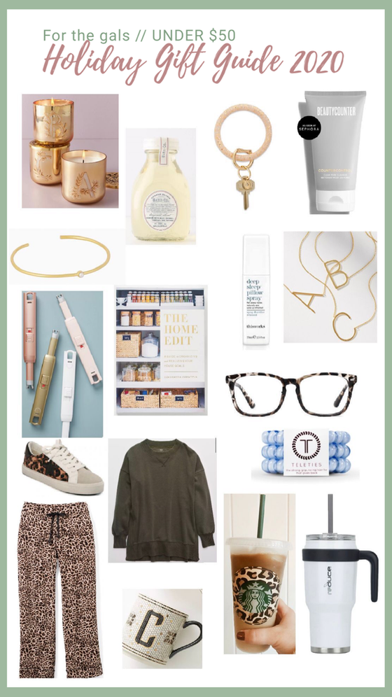 Holiday gift ideas for everyone on your list! // 2020 Gift Guides, Vol. 1