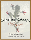 Sterling Canopy wine label