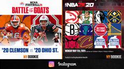 IG Feed 2020 CFB & NBA 2K