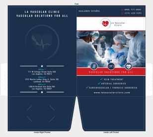 LA Vascular Clinic presentation folder
