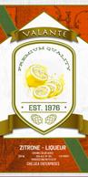 Valante Liqueur label