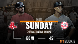 Twitter Feed 2020 MLB Red Sox vs Yankees Odds