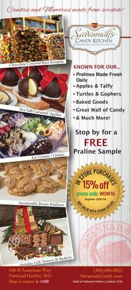 Savannah's Candy Kitchen flyer