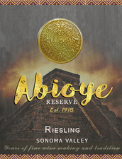 Abioye Wine Label